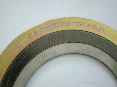 Asme B16 20 Gasket Spiral Wound Gasket With Inner Outer